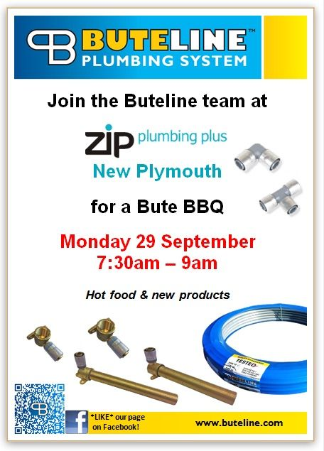 Bute BBQ @ Zips New Plymouth on Mon 29 Sep 2014