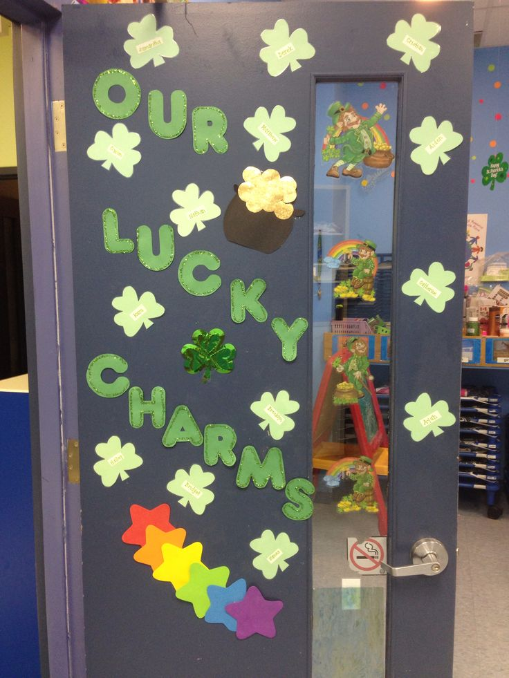 Classroom Window Decor ~ Best st patrick s day bulletin boards images on