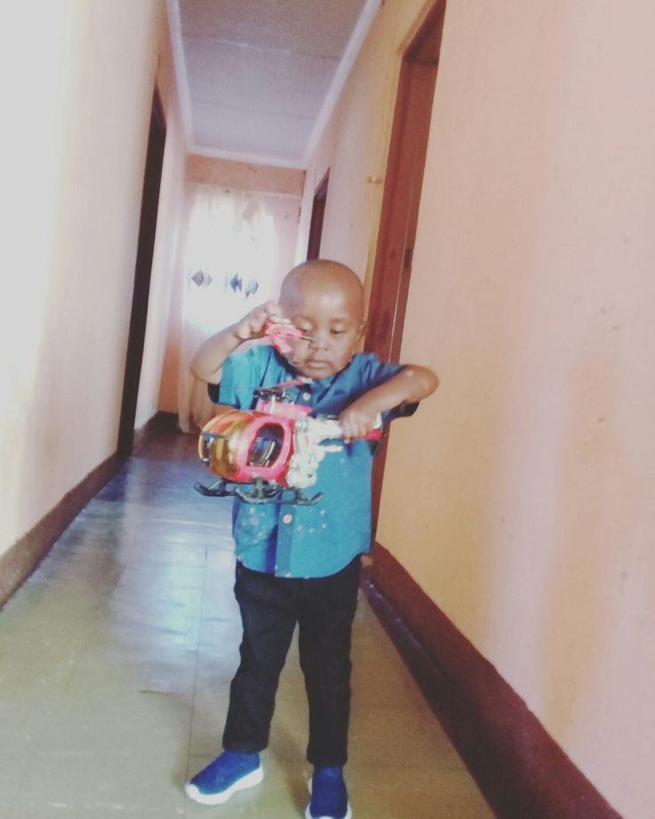 His birthday toy