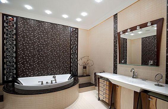 Интерьер ванной комнаты | Отделка, отделочные работы, ремонт - HozyainDoma.info