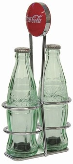 dto; perfect for my kitchen, the hubs collects old Coca Cola stuff. salt & pepper shakers