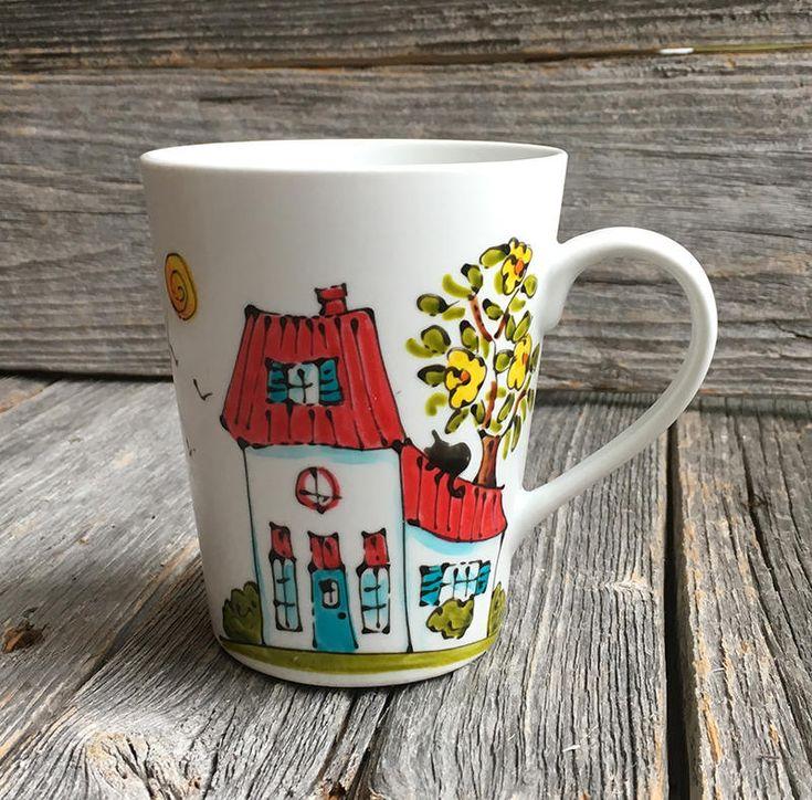 les 25 meilleures id es de la cat gorie tasses peintes sur pinterest tasses peintes la main. Black Bedroom Furniture Sets. Home Design Ideas