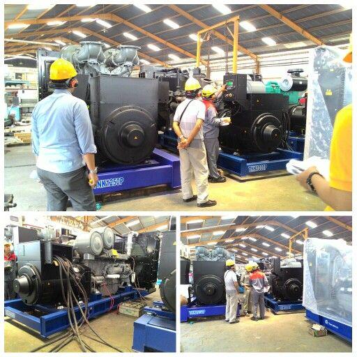 FAT Genset Perkins 1000 kVA. Project PP Precast - RSUP Fatmawati Jakarta