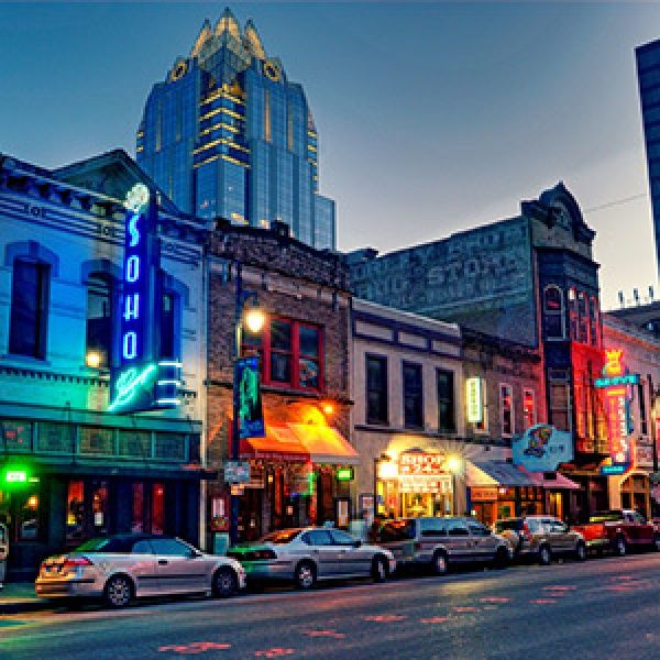 Weekend Getaway from Austin: Nightlife in Austin, Texas | Via Travel + Leisure #ATX