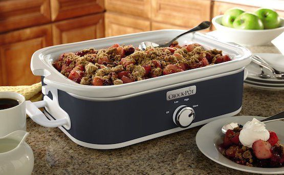 """A few weeks ago I told you that I would be testing and then reviewing the 3.5-Quart Crockpot Casserole Slow Cooker. What's different about this slow cooker from the typical slow cooker is its shape. The stoneware insert is a 9"""" x 13"""" rectangular baking dish that is the perfect size and shape to cook […]"""