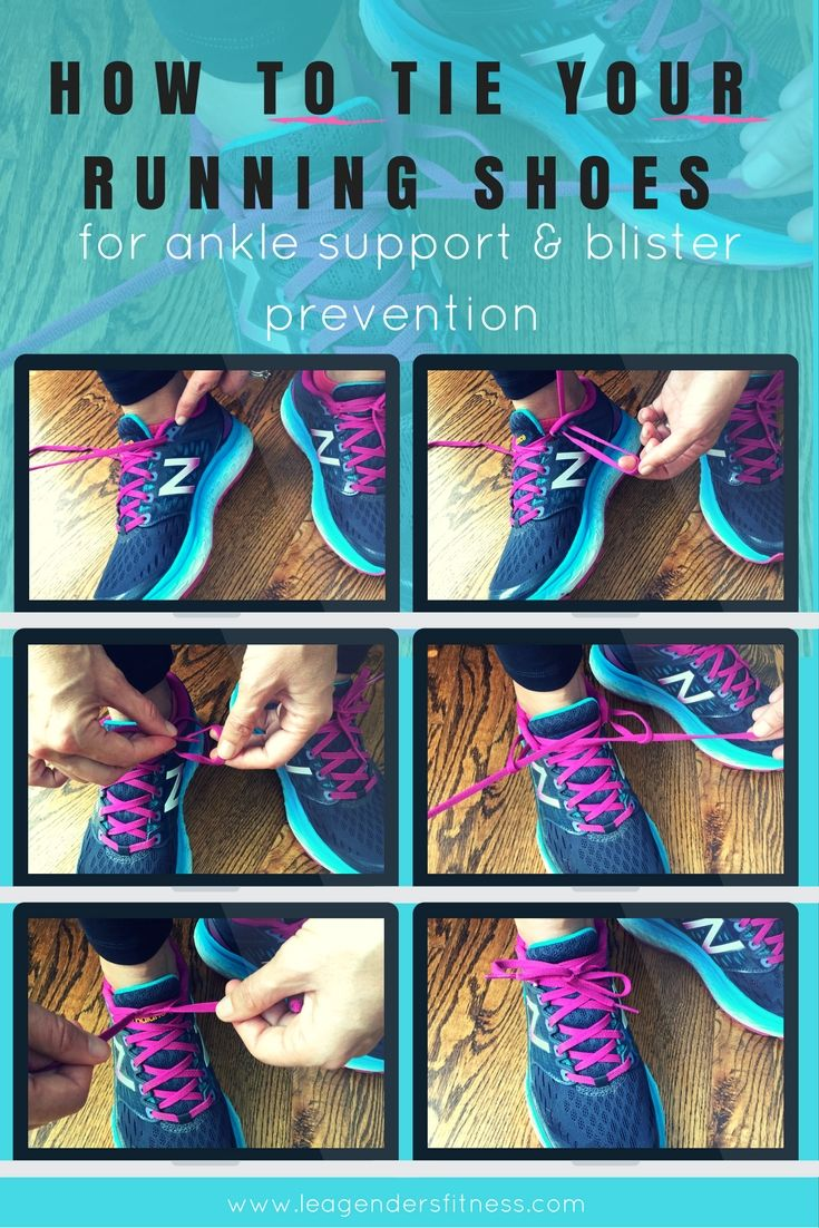 How to Tie Your Running Shoes for Ankle Support and Blister Prevention