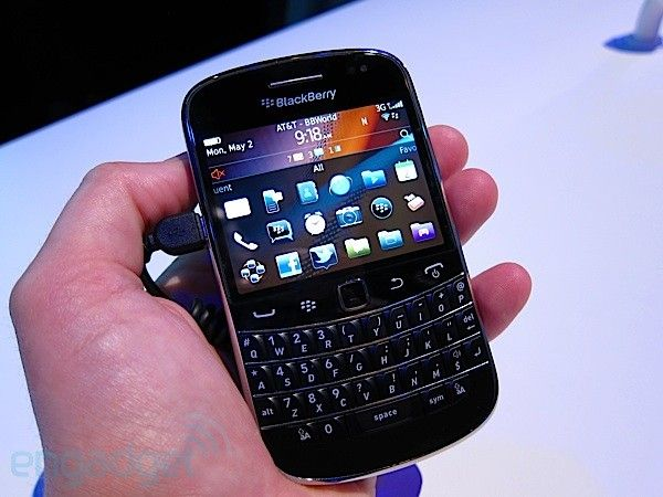 I LOVE my Blackberry Bold.  And yes...I'm  a MAC person.