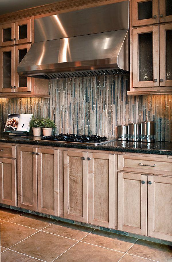 Horizontal Glass Tile Backsplash 19 best tile images on pinterest | glass, walls and backsplash ideas