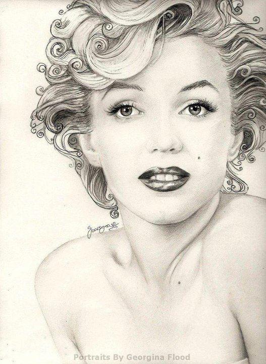 Artist: Georgina Flood: Marilyn Monroe Drawings, Marilyn Monroe Artworks, Marilyn Art, Aqua Marilyn, Celebrity Pop, Actressmarilyn Monroe, Pencil Drawings, Georginaflood Deviantart Com, Deviantart Galleries