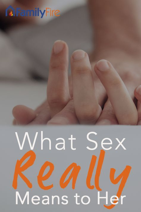 what sex means to a man