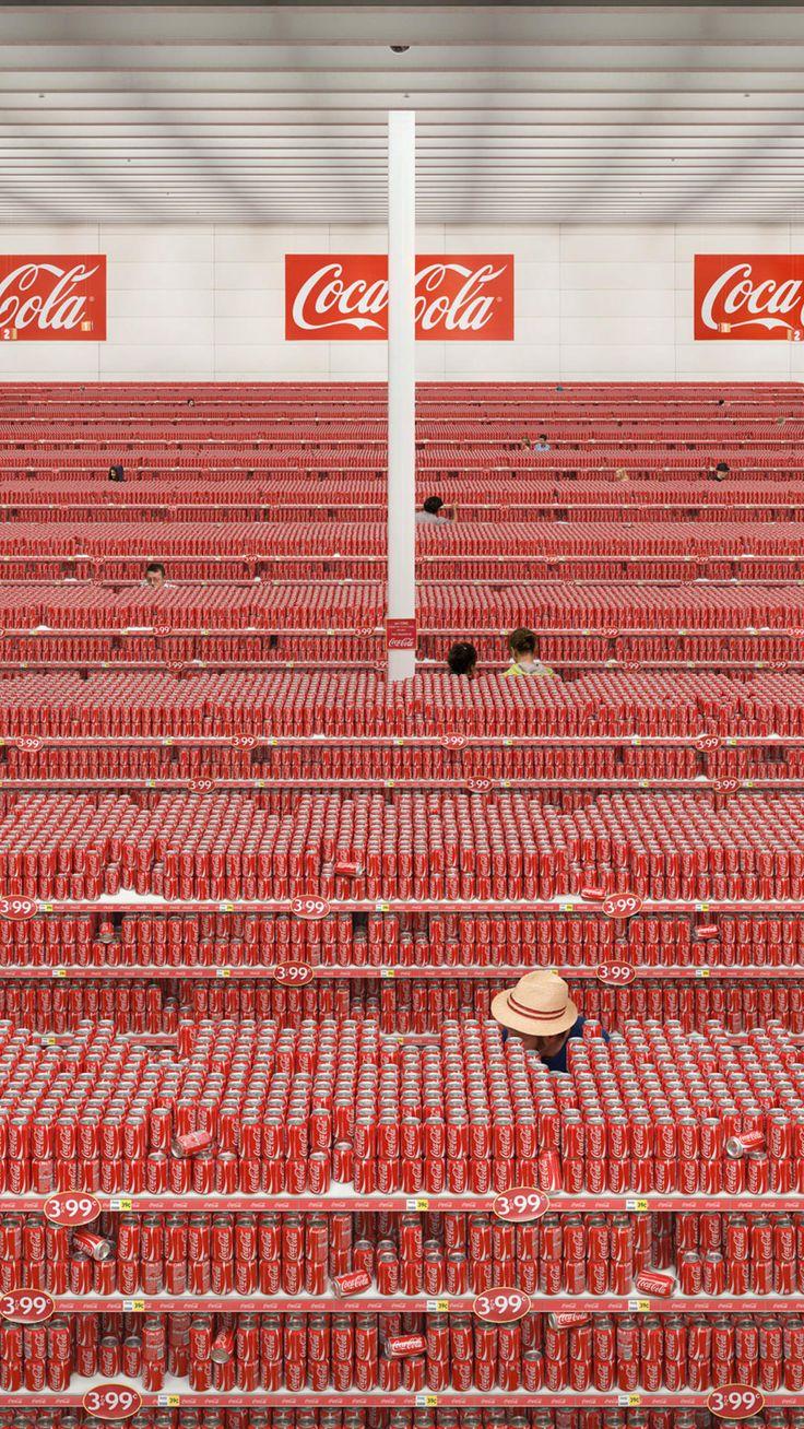gazolakos:      electricobjects:      Coca Cola by Binary Heap      boycot re moynia