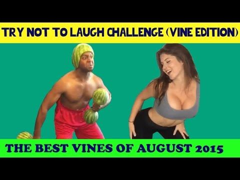 Try Not To Laugh Or Grin (IMPOSSIBLE CHALLENGE) Vine Edition August 2015 (Part 3) - YouTube