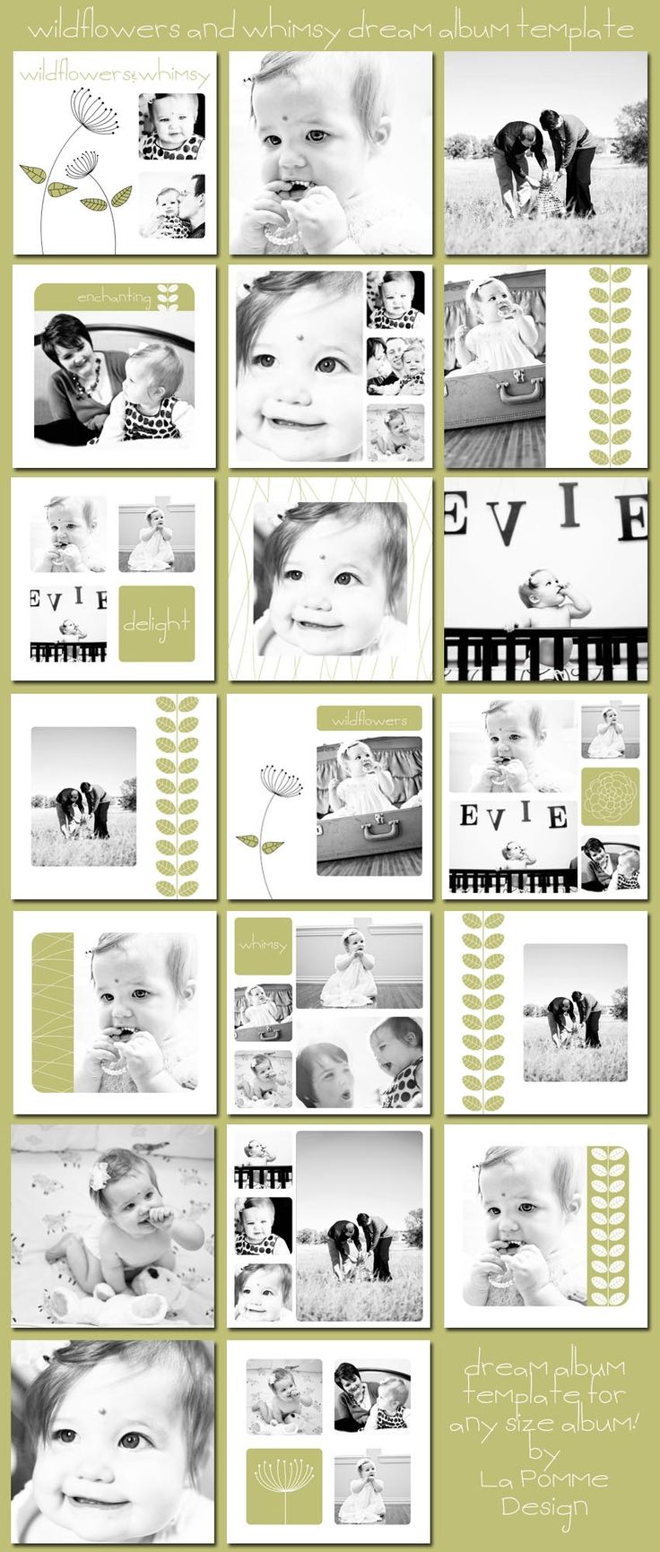 Bien connu 12 best kids photo album design images on Pinterest | Album design  PX73