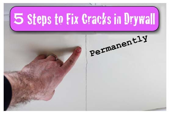 Cracks in Drywall: 5 Steps to a Permanent Fix with 3M Patch Plus Primer - Pretty Handy Girl