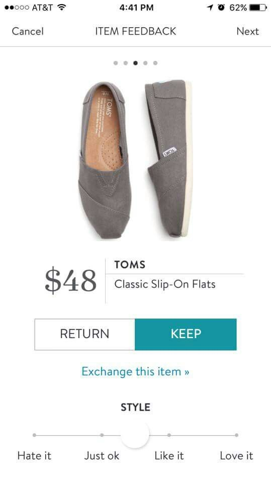 Stitch Fix Toms Gray