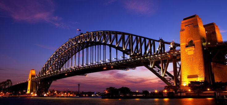 Sydney Harbour Bridge http://www.luggagefactory.com/the-travel-experts/destinations/australia/sydney