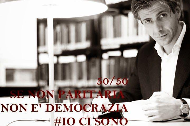 Se non ora Quando? Es ist Zeit! / Alto Adige - Südtirol: 50/50 SE NON E' PARITARIA NON E' DEMOCRAZIA #iocis...