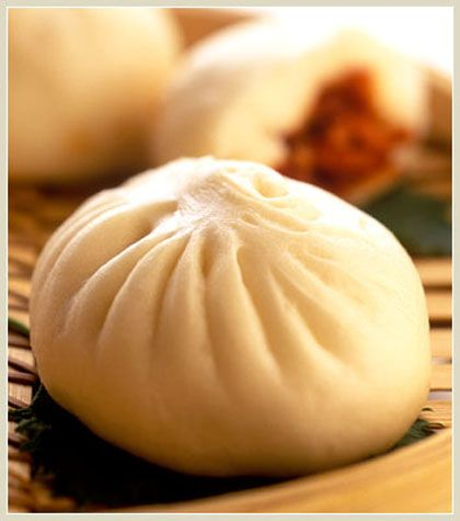 Baozi (Chinese food). You can put all you want inside. Kids love it. Me too!