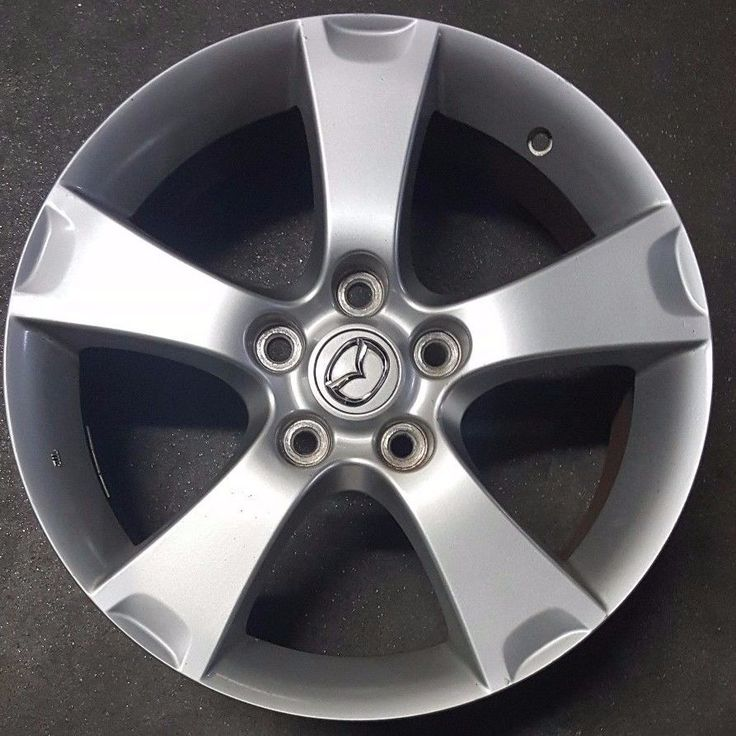 """Nice Mazda 2017: 17"""" MAZDA 3 FACTORY OEM ALLOY WHEEL RIM 2004-2006 17x6 1/2 Check more at http://24go.cf/product/mazda-2017-17-mazda-3-factory-oem-alloy-wheel-rim-2004-2006-17x6-12/"""