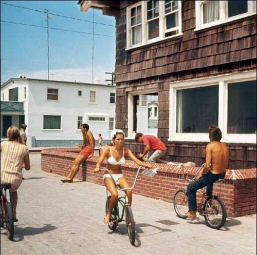 Hermosa Beach Strand, 1967  by LeRoy Grannis