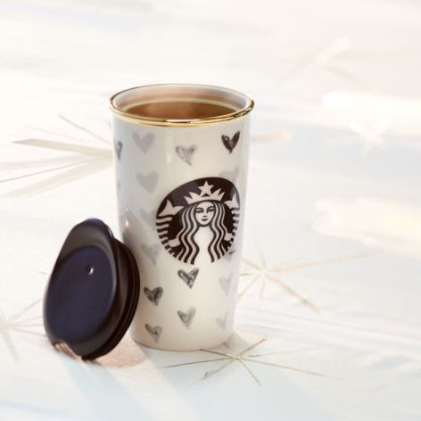 Black heart travel mug from @starbucks http://rstyle.me/~38r7K