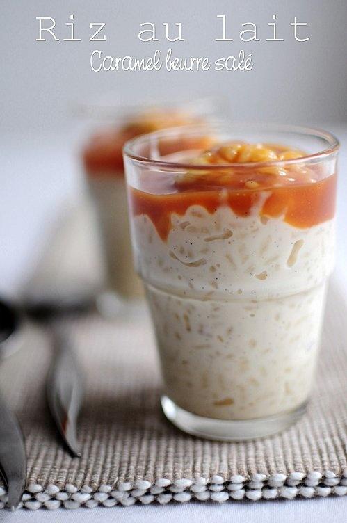Riz au lait nappé de son caramel au beurre salé: Riz Au Lait Caramel, Rice Puddings, Butter, Sweet Verrines, Creme Flan Mousse, Sweet Recipes, Salted Butter, Caramel