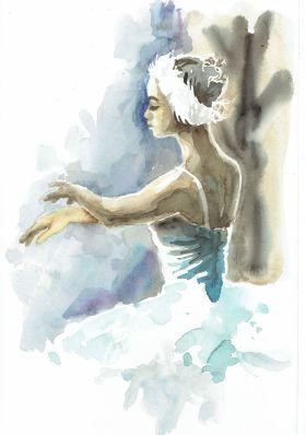 BALLERINA XV by Nicolas GOIA