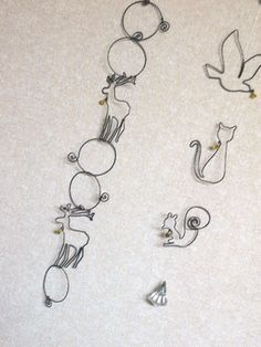 make wire wrapped animals - Google Search