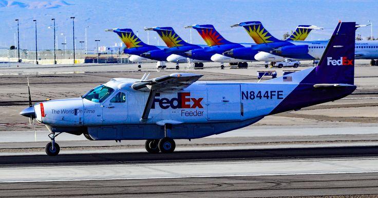 FedEx Feeder (West Air) Cessna 208B Super Cargomaster