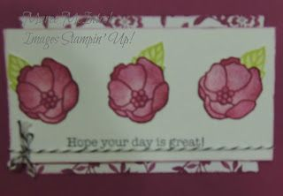 Maree McIntosh Stampin' Up Demonstrator,Australia: INKspired Sketch Blog Hop 59 -