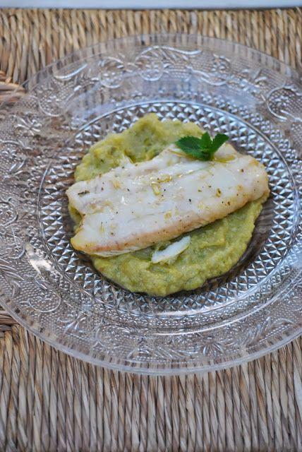 Filetto di San Pietro con crema di zucchine e menta