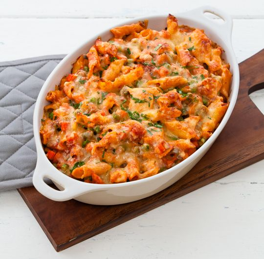 Oven baked chicken and pasta recipes