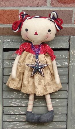 The Red White and Blue Annie