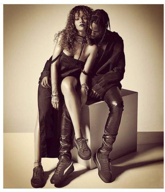 Rihanna & Travis Scott