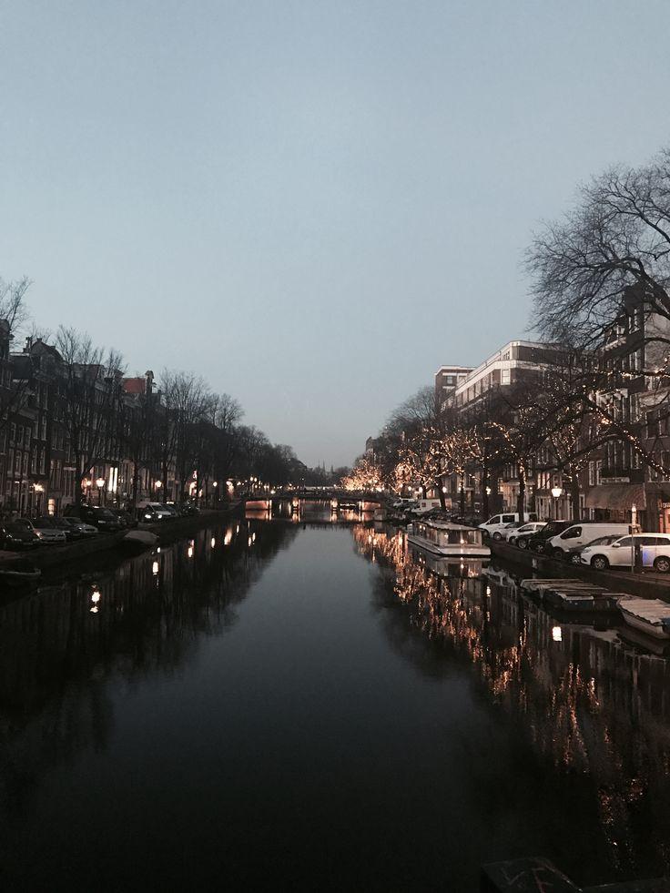 Amsterdam #amsterdam #amsterdamcanals #travel #love