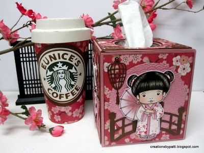 Creations by Patti: Asian Marci Tissue Box Holder