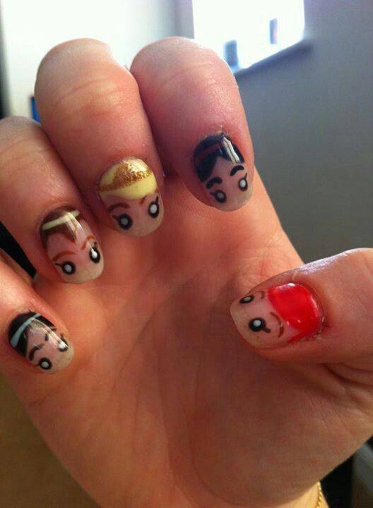 17 Best Images About Girly Nails On Pinterest Nail Art