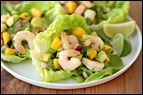 Shrimp & Avocado Lettuce Cups