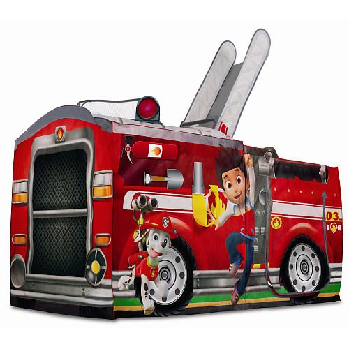 """Nickelodeon Paw Patrol Play Tent - Marshall's Fire Truck - Playhut - Toys """"R"""" Us"""