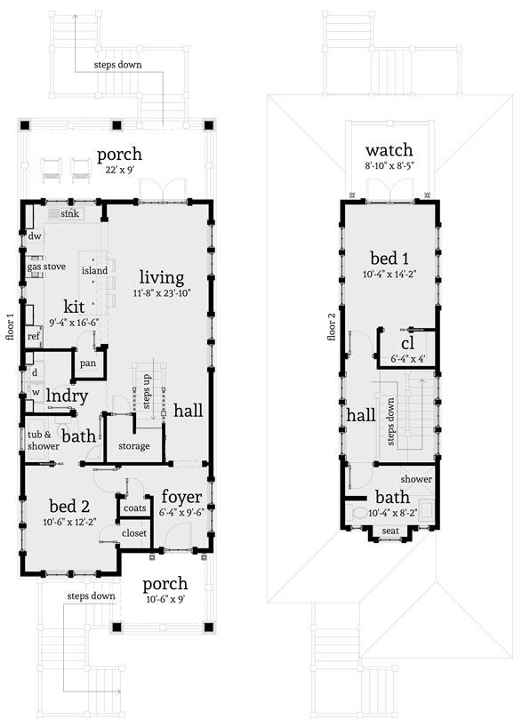 find this pin and more on rectangle house plans - Rectangle House Plans