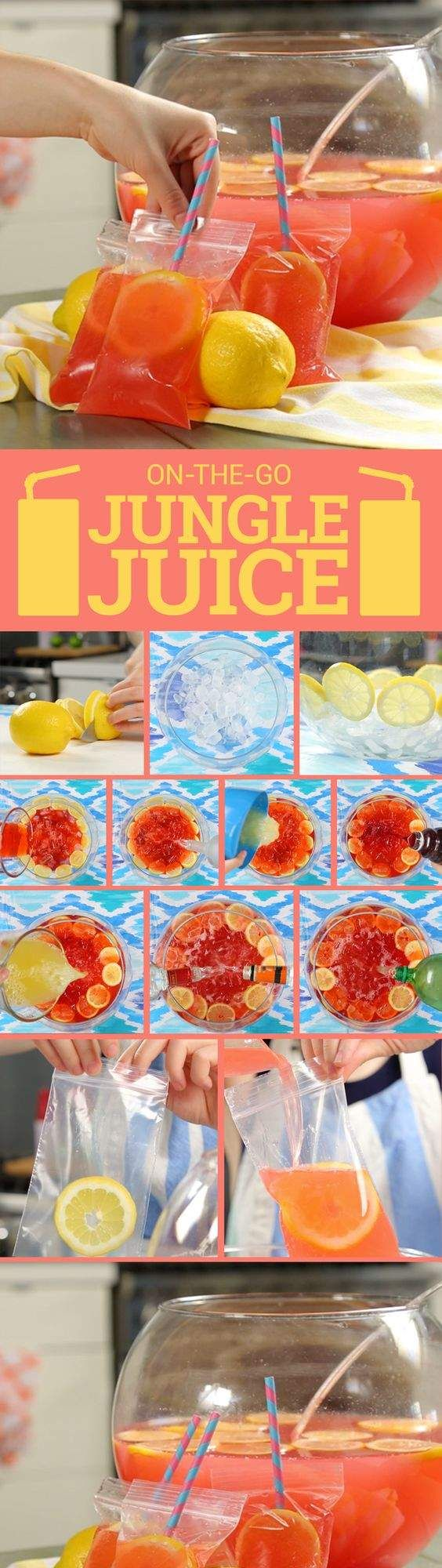 Booze Anywhere All Summer Long With This DIY Jungle Juice Pouch
