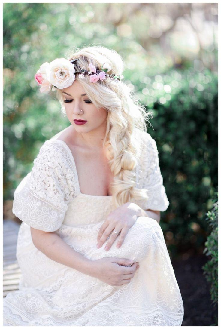 A beautiful vintage bridal portrait shoot at the San Antonio ...