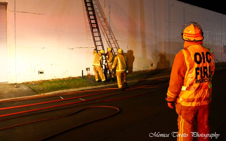 Training night on location with the Invercargill Crew. July 2013.