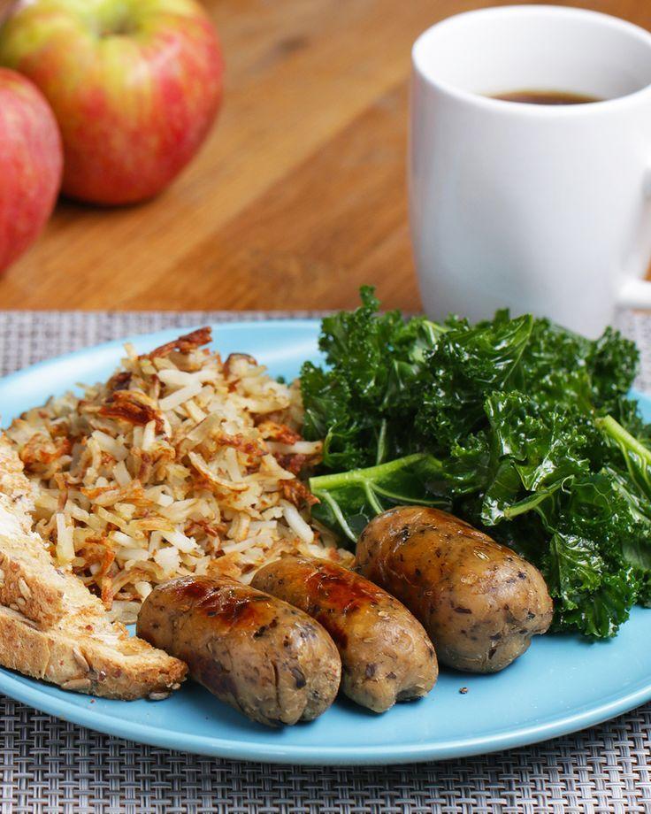 Vegetarian Breakfast Apple Sausages Recipe By Tasty Recipe Vegetarian Breakfast Recipes Vegetarian Sausages Sausage Recipes