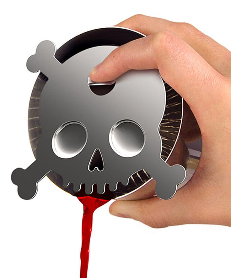 Love this Skull Cocktail Strainer by Fred & Friends on #zulily! #zulilyfinds