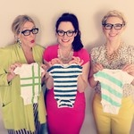 Decorate baby onesies for baby shower!