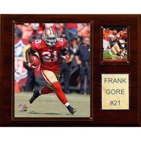 C Collectables NFL 12x15 Frank Gore San Francisco 49ers Player Plaque