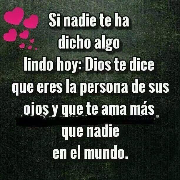 Dios te ama!