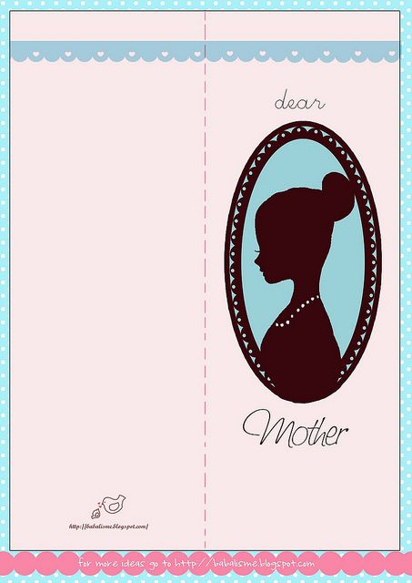 The 25+ best Motheru0027s day printables ideas on Pinterest Mothers - mothers day card template