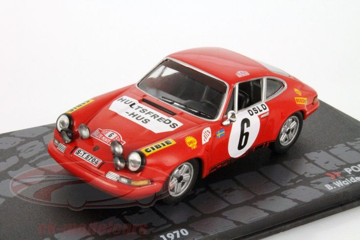 Porsche 911 S, Rally Monte Carlo 1970, No.6, B.Waldegaard / L.Helmer. Altaya, 1/43. Price (2016): 15 EUR.